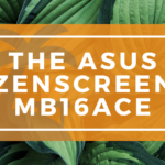 The ASUS ZenScreen MB16ACE Banner on WanderingOffice.com
