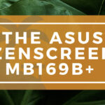 The ASUS ZenScreen MB169B+ Banner on WanderingOffice.com
